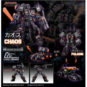 Maketoys Mobine Series Chaos & Paladin(Usato)