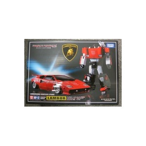 MP-12 Sideswipe/Lambor + Amazon Special Parts(Pile Drivers)
