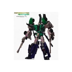 Mastermind Creation Reformatted R-01 Terminus Hexatron/Sixshot
