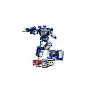 "MP-2 Aka MP-13 Soundwave W/Laserbeak + MP-15 Rumble & Jaguar + MP-16 Frenzy & Buzzsaw  Giftset ""Toys'R Us Exclusive"""
