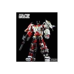 TFC Uranos/Superion Team Uranos Complete SET di 5 + Upgrade Kit