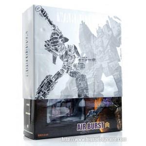 Warbotron WB01 Not-Bruticus Complete Set