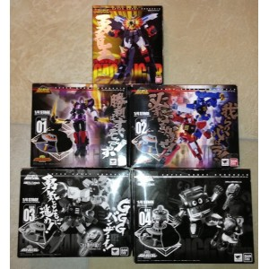 SRC King Of Brave Gaogaigar + Big Order Room Set di 4