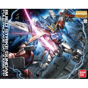 Bandai Gunpla Master Grade MG 1/100 Gundam Build Strike Full Package