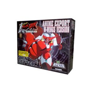 Shin Getter 1 W-Wing Weathering Anime Export Limited Edition