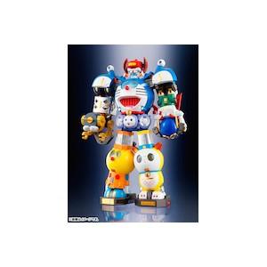 DX Chogokin CHOU GATTAI SF FUJIKO Doraemon Combination