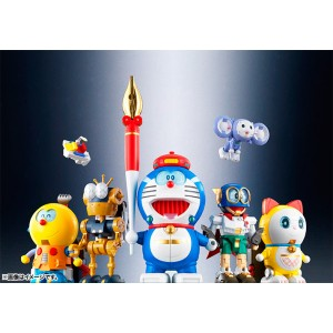 Bandai DX Chogokin CHOU GATTAI SF FUJIKO Doraemon Combination
