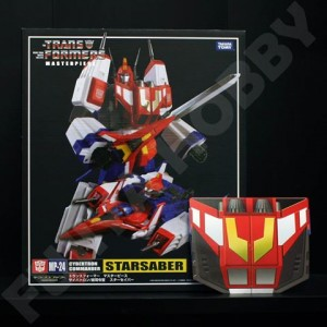 Takaratomy Transformers Masterpiece MP-24 Star Saber + Coin