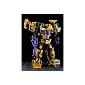 Maketoys MTCombainer Series: MTCM-01 Giant Yellow Version Complete Set