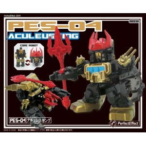Perfect Effect PES-04 Aculeusking/Black Zarak Super Deformed