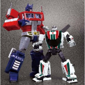 MP-20 Wheeljack + Coin + Amazon Gadget