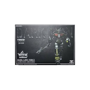 Icarus Toys United Gokin UG-00B Dark Lion Force Voltron 'Limited Edition'