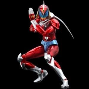 Sentinel Tatsunoko Heroes Fightingear: Hurricane Polymar 'Metallic Version' Limited 300