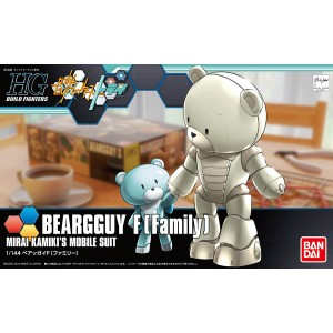 HGBF 1/144 Build Fighter Beargguy III F(Family)