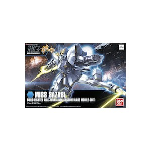 HGBF 1/144 Build Fighter Miss Sazabi