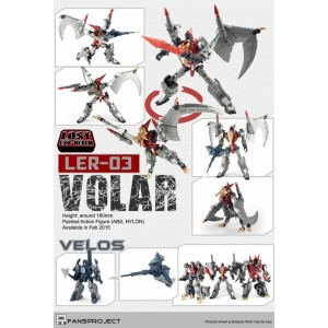 Fansproject Lost Exo-Realm - LER-03 Volar & Velos