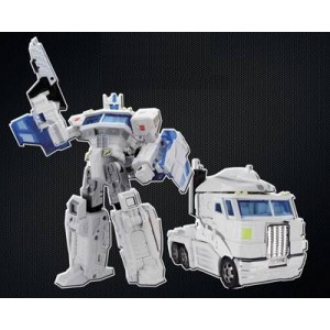 Fansproject TFX-01 City Commander Trailer Set with United Ultramagnus Combo Set