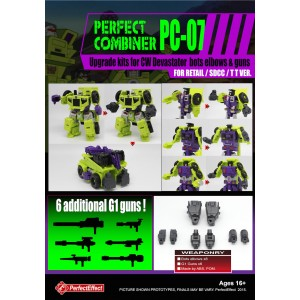 Perfect Effect PC-07 Combiner Wars Upgrade Set for Contructicons