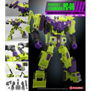 Perfect Effect PC-06 Combiner Wars Upgrade Set for Devastator