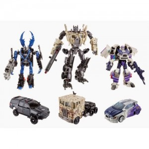 Hasbro AOE Breakout Battle Set di 3 Platinum Edition