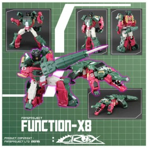 Fansproject Function X8 Skullcruncher No Crox