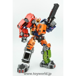 Toyworld Cars Combiner complete Set of 6