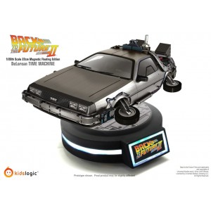 Kidslogic Back to The Future Part II(Ritorno al Futuro 2): 1/20 Magnetic Floating Delorean Time Machine