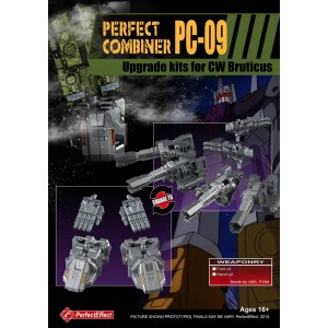 Perfect Effect PC-09 Combiner Wars Bruticus Upgrade Set for Hands and Feet