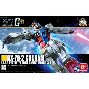 Bandai Gunpla High Grade HGUC 1/144 Gundam RX-78-2 'Revive'