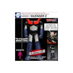 Evolution Toy Special Parts: Mazinger Z Body for Metal Action No. 03 Jet Pilder W/Mazinger Z Head