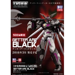 Icarus Toys X Miracle Production United Gokin Getter Arc Black